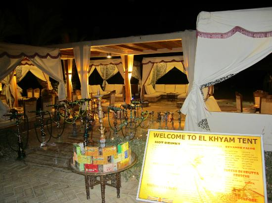 Coral Sea Sensatori - Sharm El Sheikh smoking tent! ) & smoking tent! :) - Picture of Coral Sea Sensatori - Sharm El ...