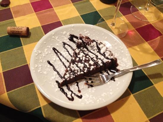 Ristoro Lucarelli: torta al cioccolato