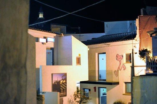Favara, Italia: Sette Cortili. Veduta esterna