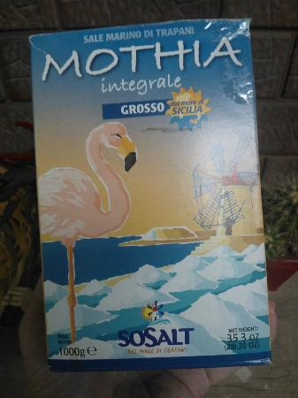 Isola di Mozia (Mothia)/ San Pantaleo : Il sale