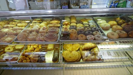 Barbary Coast Pastry & Coffee: Pastry options at Barbary Coast