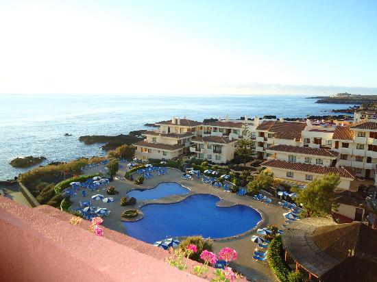 H10 Taburiente Playa : Sea/pool view from our room 421