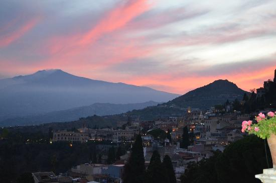 Belmond Grand Hotel Timeo : Mt. Etna from Hotel Grand Timeo