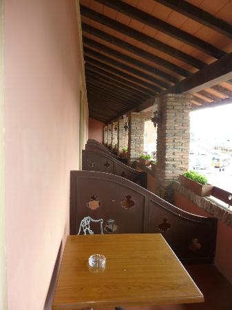 Hotel Gran Duca: Balkon
