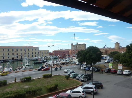 Hotel Gran Duca: Blick vom Balkon