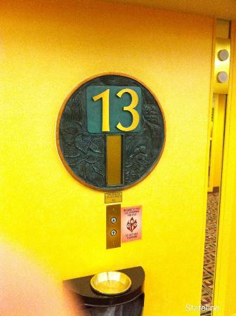 Most hotels don't have a 13th floor