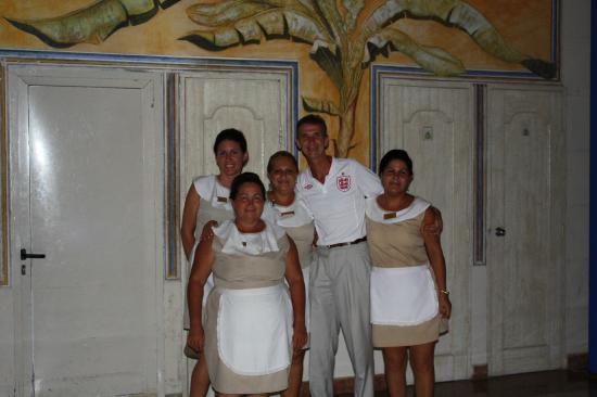 Paradisus Rio de Oro Resort & Spa: john with lots of friends