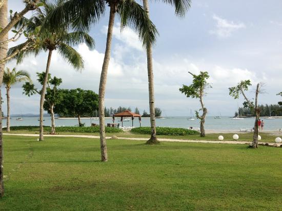 The Danna Langkawi, Malaysia: 海は結局入る機会はありませんでした