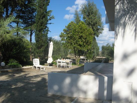 B&B Getsemani : Giardino
