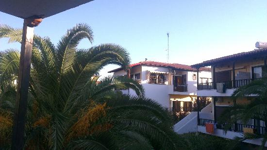 Ioli Village: View from our apartment