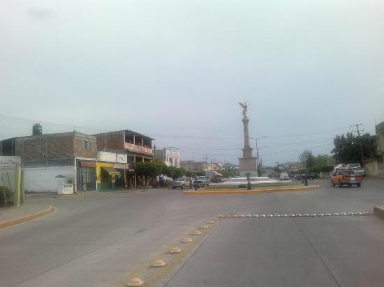 Guanajuato, México: Entrada Norte a Yuriria Gto