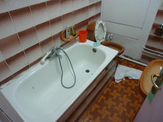 Panoramic Hotel : Salle de bain modern (en 1950)