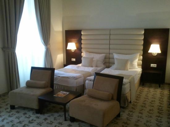 Buda Castle Fashion Hotel: Hotel room first floor 