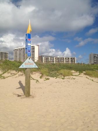 La Copa Inn Beach Hotel: beach front
