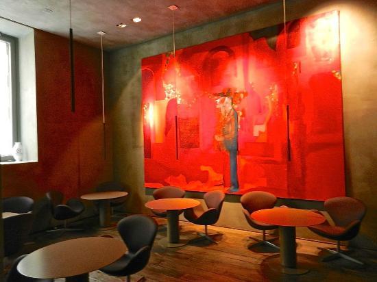 Palazzo Segreti: Lobby Breakfast Room