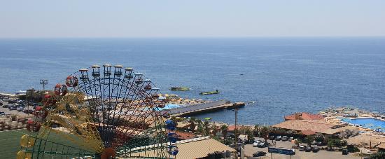 Mediterranee Hotel : Seaview from room