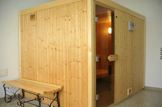 Mediterranee Hotel : Sauna in the business center