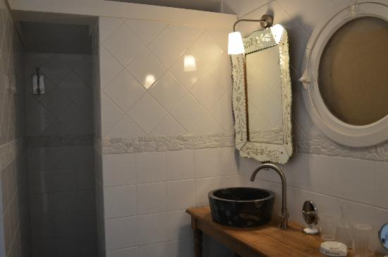 Eremyten Hof: Suite bathroom