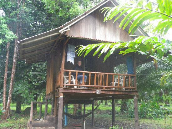 Khao Sok Palmview: cabanon