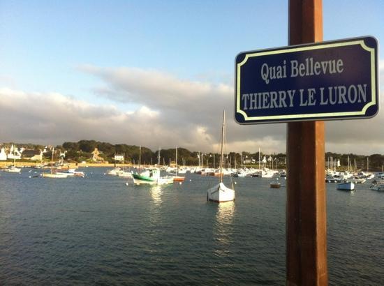 vue sur le port de ploumanac h picture of restaurant des rochers perros guirec tripadvisor