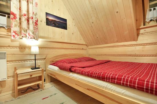 Szalas Janikowka: Twin bedroom