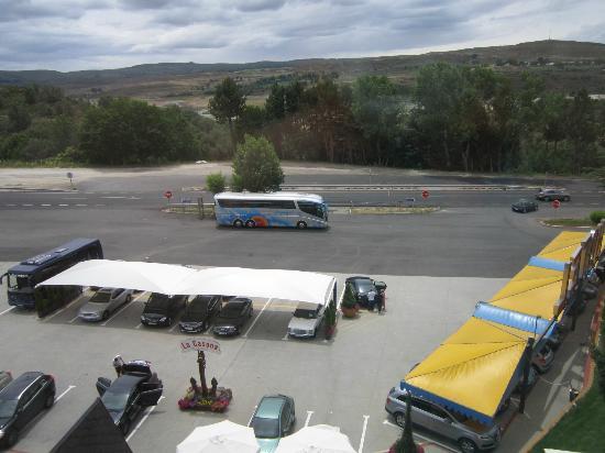 Hotel J-Enrimary: Vista desde ventana