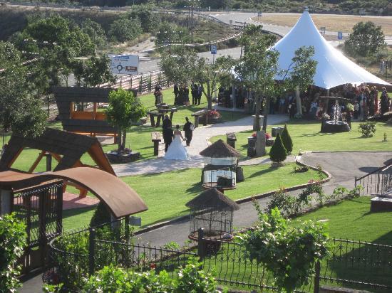 Hotel J-Enrimary: Jardines