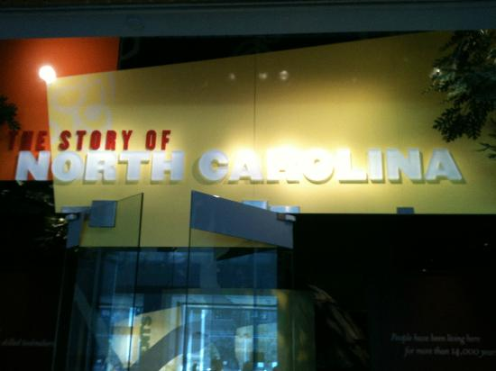 North Carolina Museum of History: History of NC