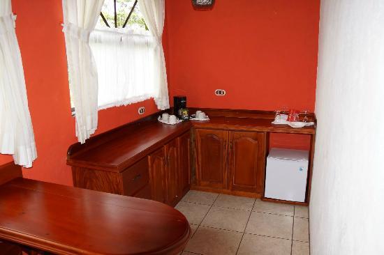 Hotel Mountain Paradise: Kitchenette in der Master Suite