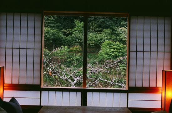 HOSHINOYA Kyoto: View from our room