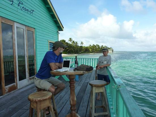 Tranquility Bay Resort: Talking with the neighborhood flyfishing prodigy, Daniel