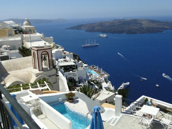 Villa Renos: Desde el balcón...