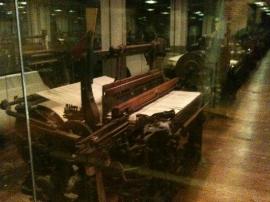 North Carolina Museum of History: Inside Textile Mill