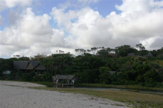 Ras Kutani: Vue depuis la plage