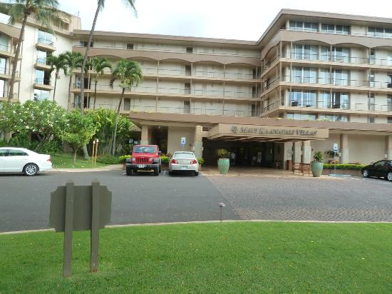 Aston Maui Kaanapali Villas: The main buildling