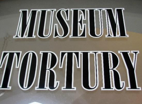 Museum of Torture Instruments: detail