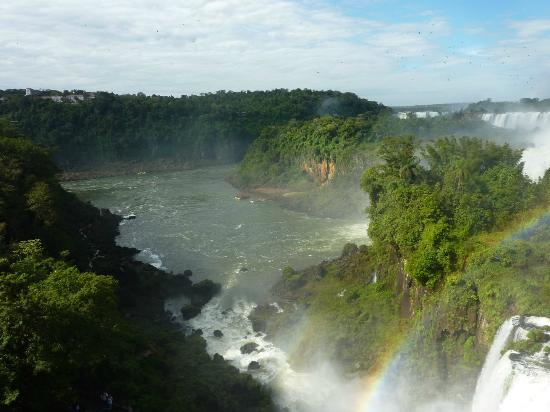 Belmond Hotel das Cataratas: Argentinian side of the falls