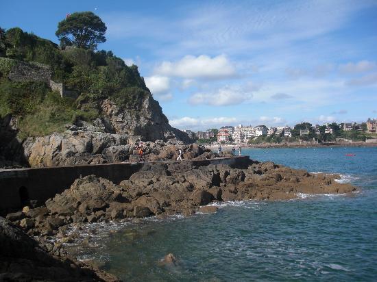 Hotel De La Vallee : Vue de la plage