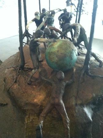El Paso Museum of Art: Great sculptures