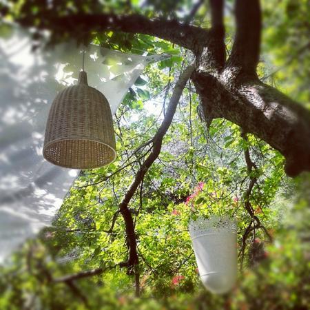 Villa Anna: the garden lantern