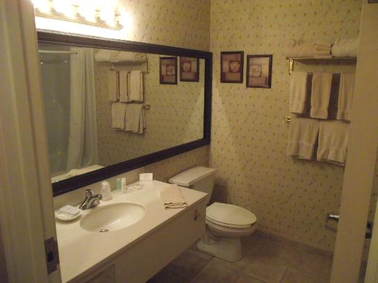 Comfort Suites Chincoteague: Bathroom.
