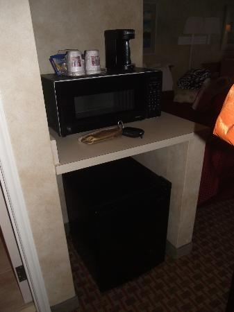 Comfort Suites Chincoteague: Inside the hotel room!