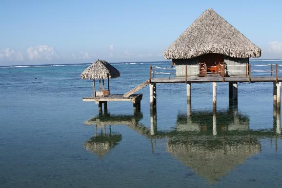 Le Meridien Tahiti : Overwater bungalow