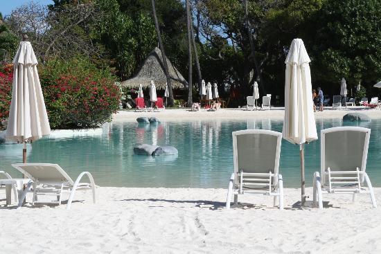 Le Meridien Tahiti : Pool