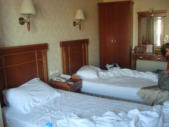 Vatan Asur : habitación de 2 camas muy cómodas