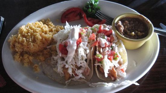 Poco Cielo: Best. Fish tacos. Ever.