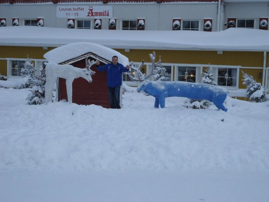 Hotel Hullu Poro: Crazy Reindeer indeed ;-)