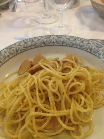 Eco Hotel Edy: spaghetti ai funghi porcini