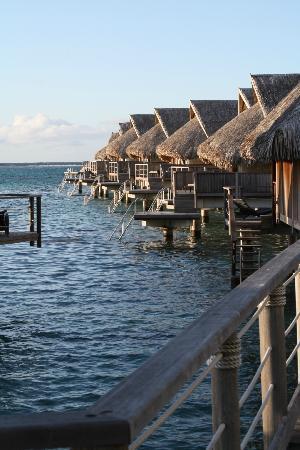 Sofitel Moorea Ia Ora Beach Resort: Overwater bungalows