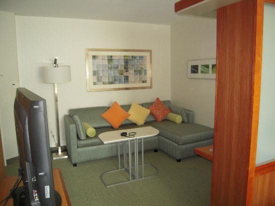 SpringHill Suites Alexandria: sofa